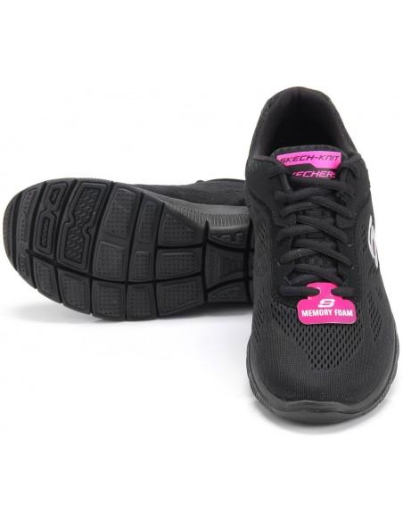 SKECHERS Flex Appeallove Your Style 11728 BLACK NEGRO
