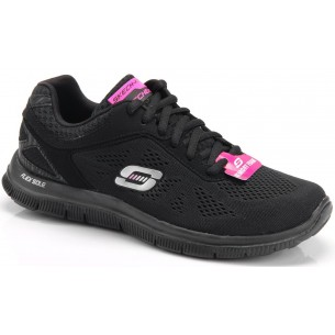 SKECHERS Flex Appeallove Your Style 11728 BLACK NEGRO